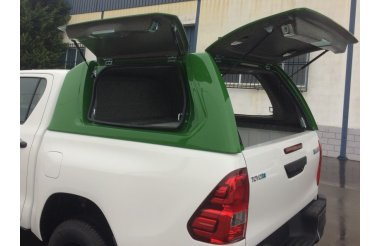 D-Max 2017+ Kastikate, wing doors, double cab