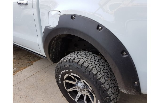 Ranger T6 2011+ fender flares (body kit), with bolts