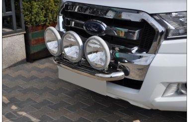 Ford Ranger T6 2011+kolme tulede kinnitus, raud 60mm