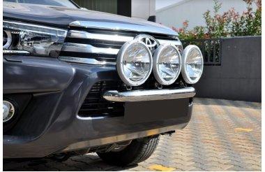 Toyota Hilux 2015+kolme tulede kinnitus, raud 60mm